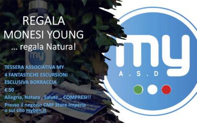 Regala Monesi Young…regala allegria, natura e benessere!